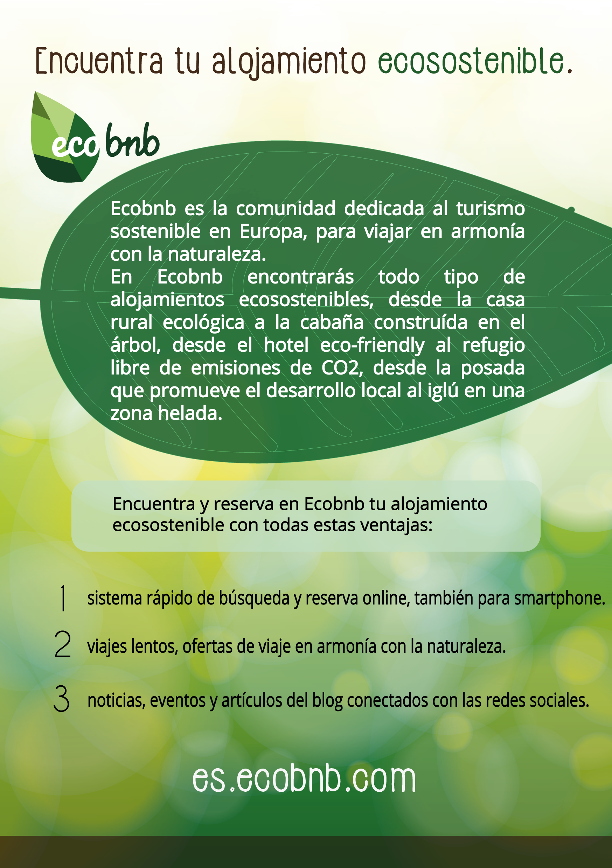 FAQ ¿Qué ofrece Ecobnb?