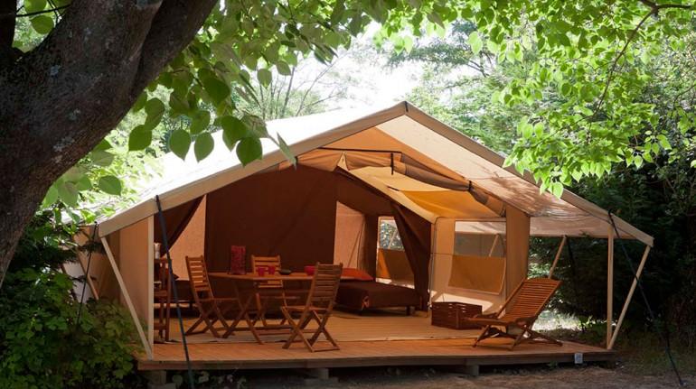 Camping la Serre en Francia