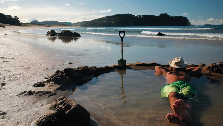 Hot Water Beach, Nueva Zelanda