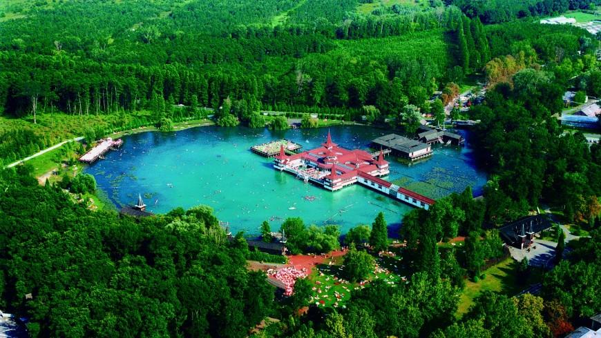 Lago de Hévíz, Hungría