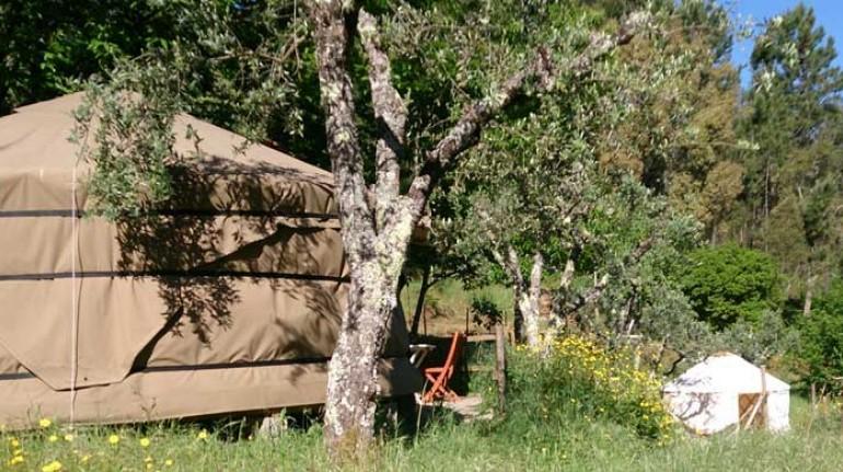 Yurt Retreat en Portugal