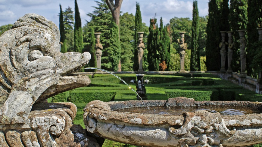 Palacio Farnesio en Caprarola