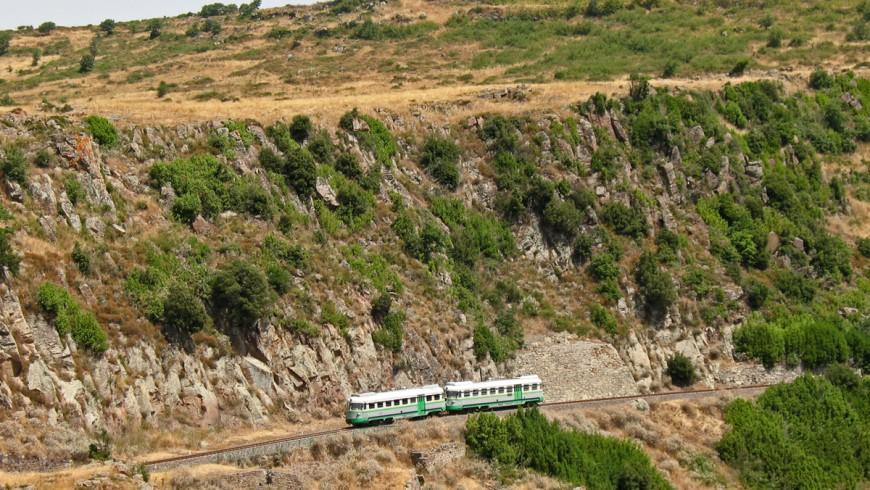 Tren Verde de Cerdeña