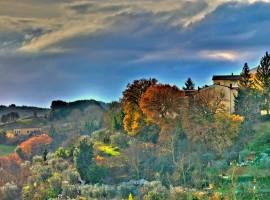 Alrededores de Siena en Otoño