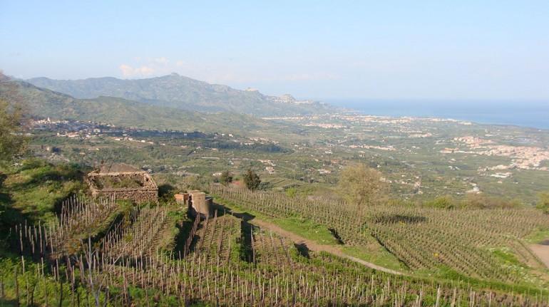 Vista desde las' Eco Casas, Catania