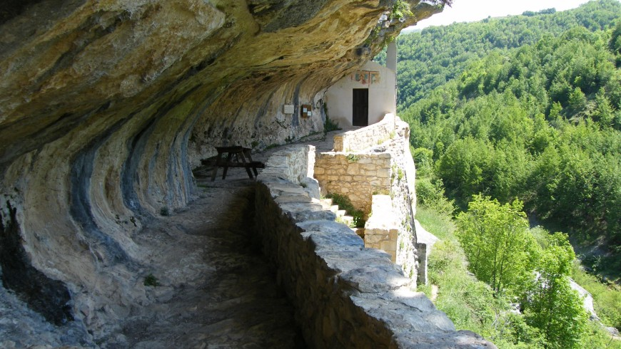 Eremo di san Bartolomeo, Parque Nacional de la Majella, Abruzzo