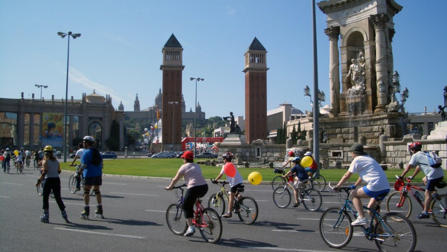 Fiesta de la bici, Barcelona