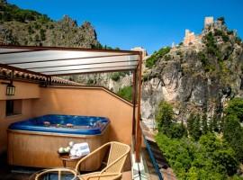 Jacuzzi privado exterior Hotel Spa Sierra de Cazorla