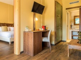 Habitación del resort Mas Salagros