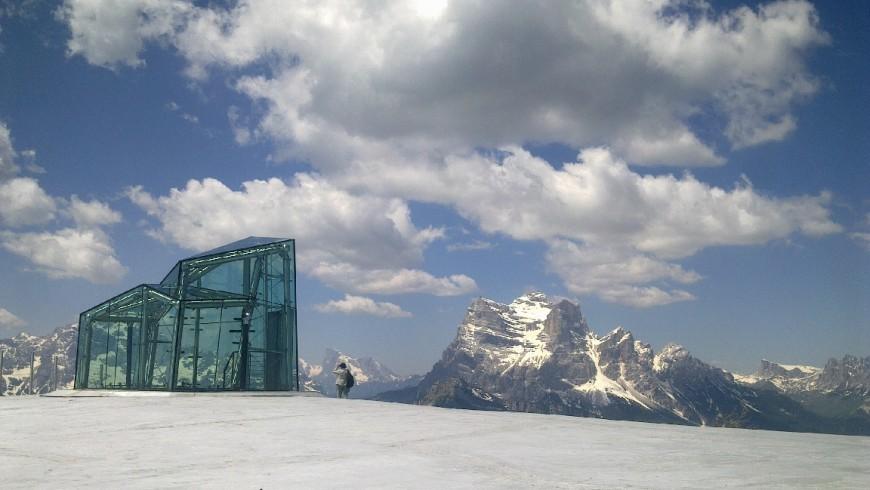 Un balcón con 360º en Véneto