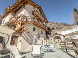 Una casa en el valle Aosta