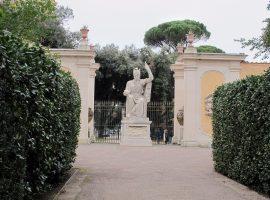 Los jardines de las villas Medici