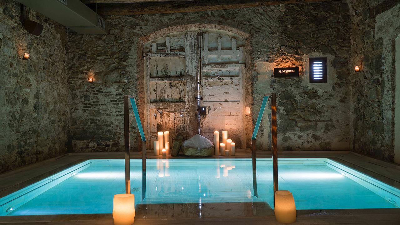 Baños termales de Mas Salagros