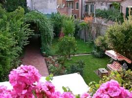 Los jardines secretos de Venecia.