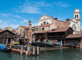 Flotas de San Trovaso en Venecia