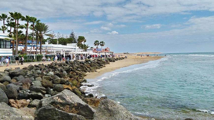 Maspalomas, Islas Canarias, España. Un mar de ensueño: las 30 playas más bellas de España