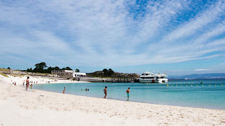 Playa de Rodas, Vigo, España. España. Un mar de ensueño: las 30 playas más bellas de España