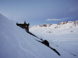 Exterior del Rifugio Bella Vista. Los 19 hoteles más extraños del mundo