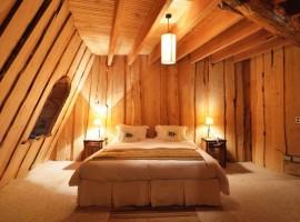Dormitorio del Magic Mountain Hotel en la Patagonia. Los 19 hoteles más extraños del mundo