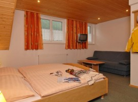 Dormitorio del Hotel Eggerhof, Mallnitz, Austria