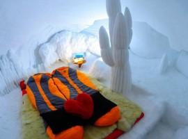 Interior del Igloo Village Zermatt. Los 19 hoteles más extraños del mundo
