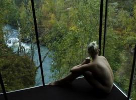 Paisaje del Juvet Landscape Hotel. Los 19 hoteles más extraños del mundo.