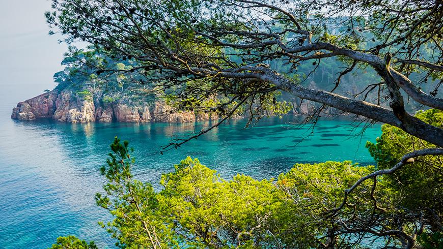 Aiguablava, Gerona. España. Un mar de ensueño: las 30 playas más bellas de España