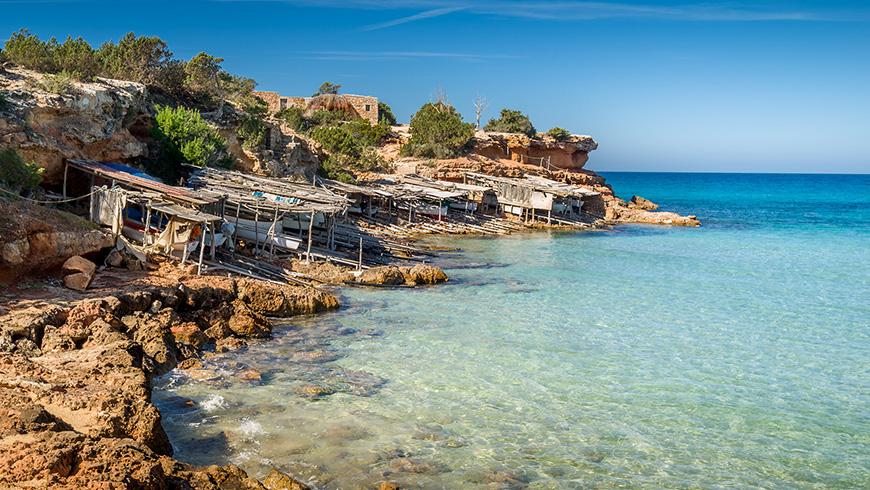 Cala Saona, Formentera,España. Un mar de ensueño: las 30 playas más bellas de España