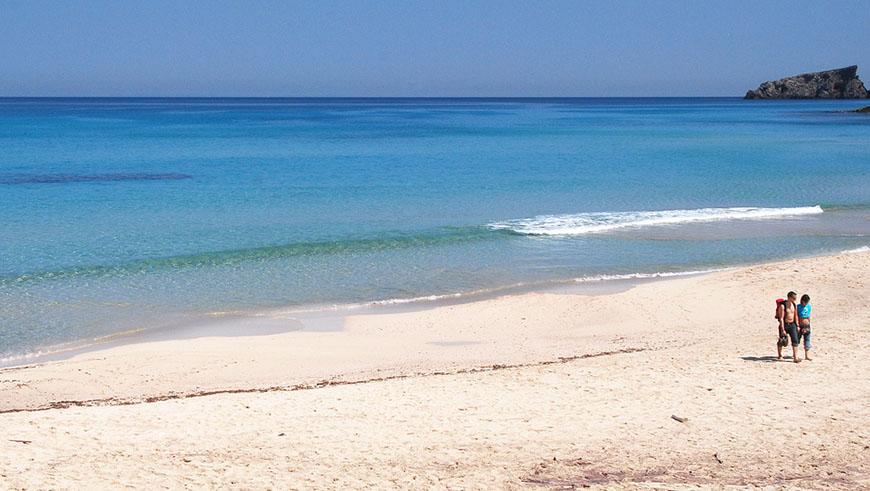 Cala Mesquida. Islas Baleares, España. Un mar de ensueño: las 30 playas más bellas de España