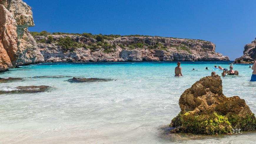 Caló des Moro, Mallorca, España. Un mar de ensueño: las 30 playas más bellas de España