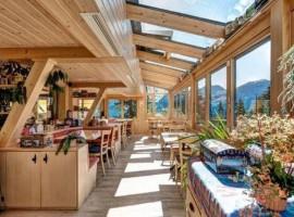 Solarium del Arlenwald Hotel Arosa Suiza