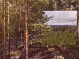 árboles del Treehotel, Suecia. Los 19 hoteles más extraños del mundo.