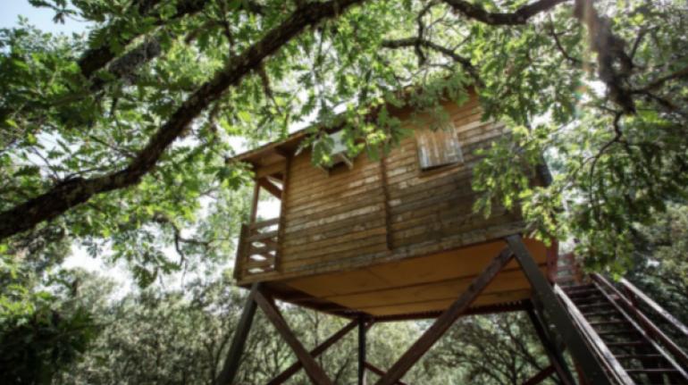 Ecolodge de Cabaneros,Ciudad Real, España.Los 10 insólitos alojamientos eco-friendly de España