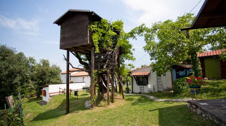 Exterior del agriturismo biologico Aperegina. Los 19 hoteles más extraños del mundo