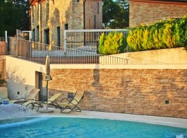 La piscina de Casa Olivo,
