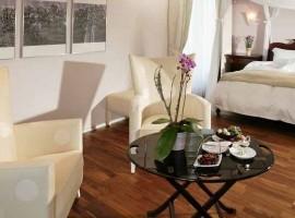 Habitación del Hotel Eden Spiez, Suiza,Interlaken