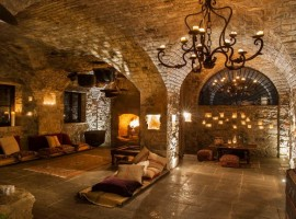 Sala del Eremito Hotelito del Alma, Umbría, Los 19 hoteles más extraños de mundo