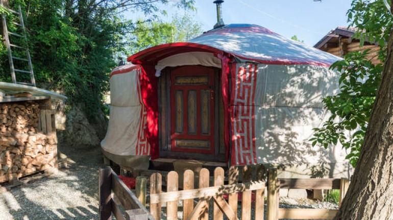 Tienda de Yurta Soul Shelter, Turín. Los 19 hoteles más extraños del mundo