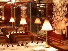 Interior de los vagones de Orient Express