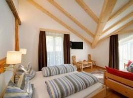 Dormitorio del Hotel Residence Rabenstein, Italia