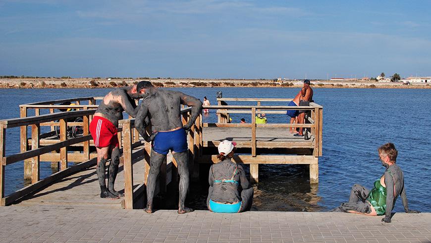 Las Charcas de Lo Pagán, Murcia,España. Las 10 mejores piscinas termales gratuitas de España