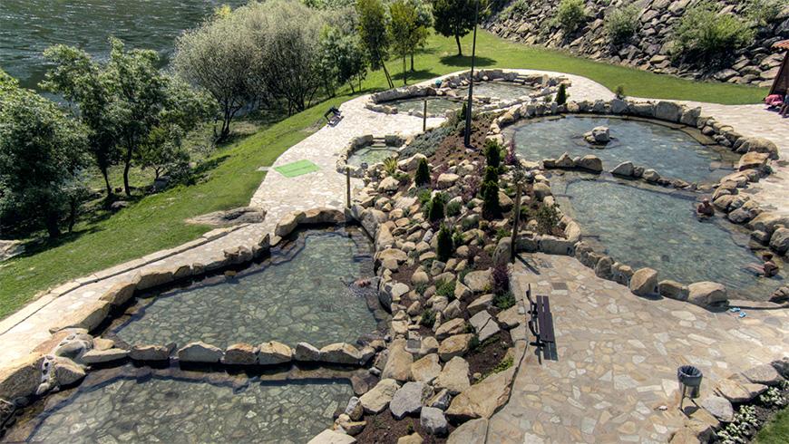 Pozas termales de Outariz, Ourense, España. Las 10 mejores piscinas termales gratuitas de España