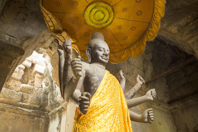 Estatuas de Camboya. Los seis lugares imperdibles de Camboya que debes visitar