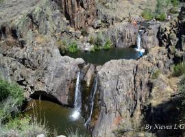 Cascada del Aljibe, Guadalajara, España. Tesoros de la naturaleza: Las cascadas más hermosas de España