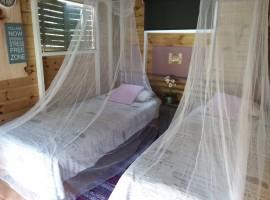 cama lujo campamiento andalucia