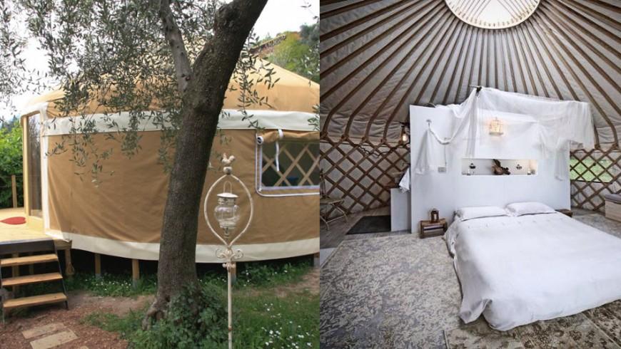 glamping Lago de Garda: donde despertarse entre olivos seculares