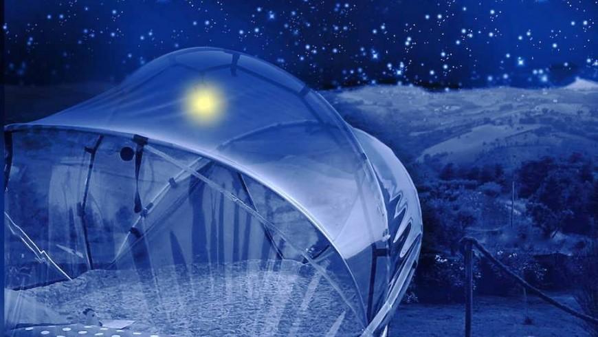 Marcas: dormir bajo las estrellas