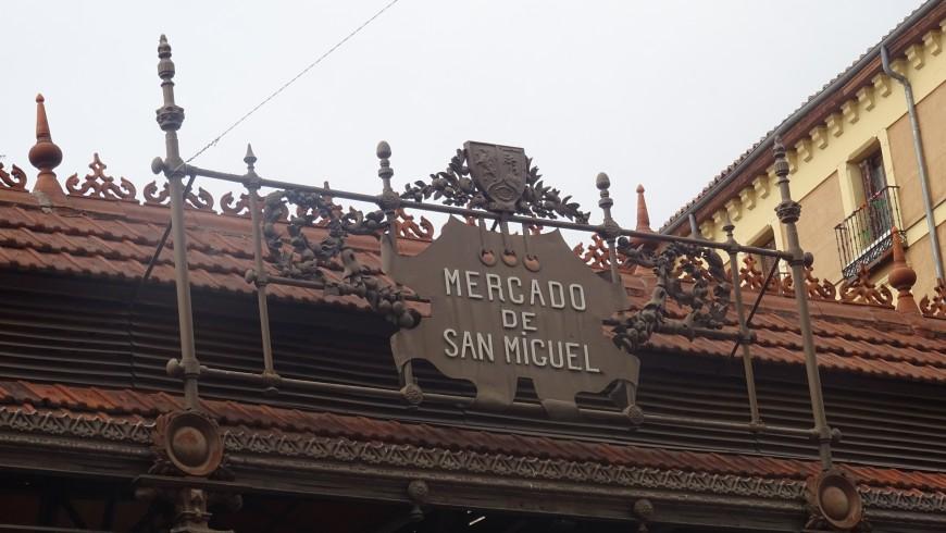 Madrid, Mercado San Miguel