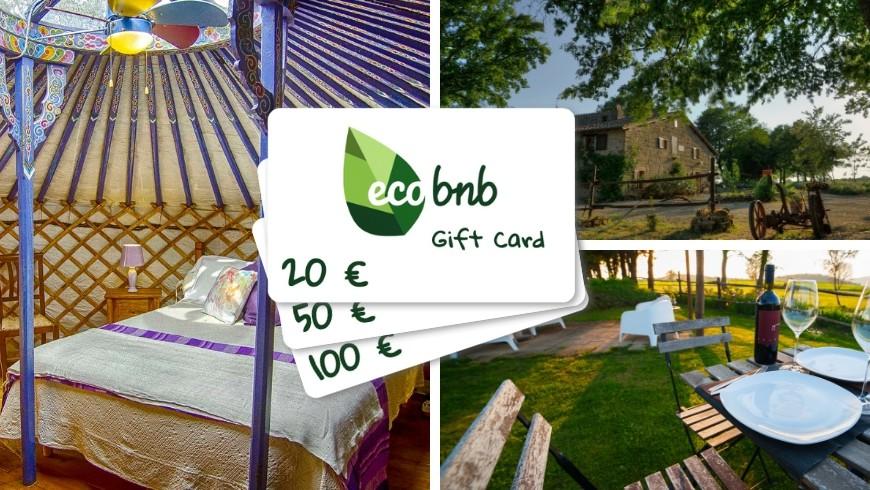 Regalar una experiencia Green con la Gift Card de Ecobnb