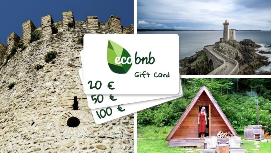 Gift Card: las nuevas Tarjetas regalo digitales de Ecobnb